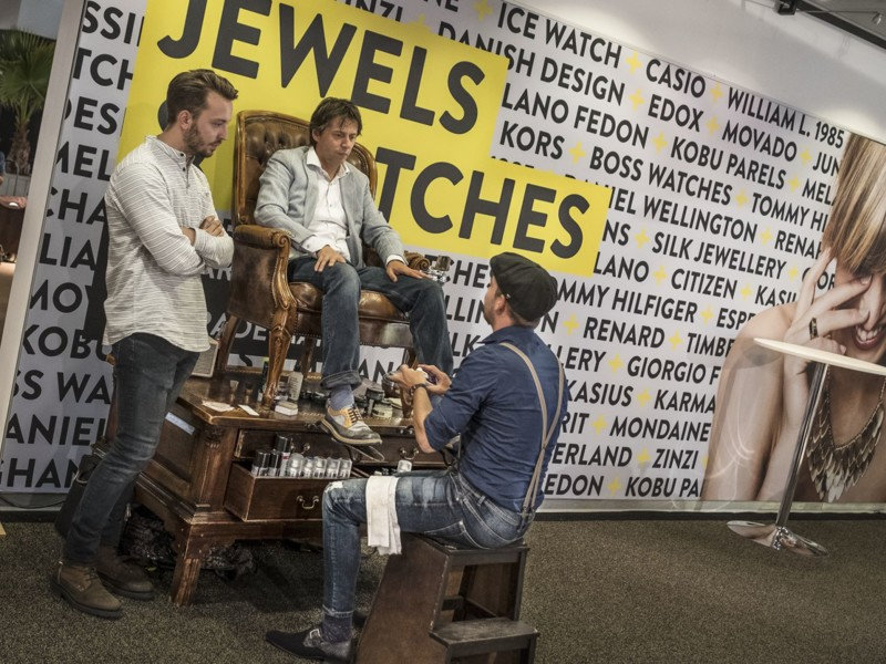 Jewels & Watches wordt verbouwd en Voorjaarsbeurs is verzet
