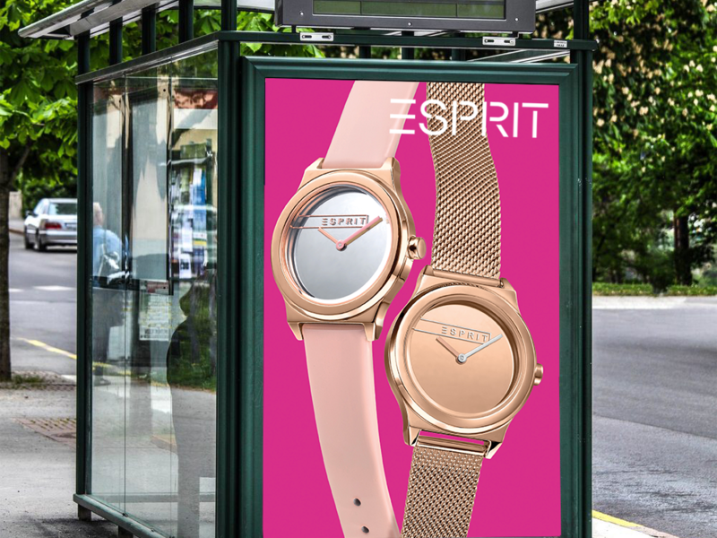 Grote Out-of-Home campagne Esprit