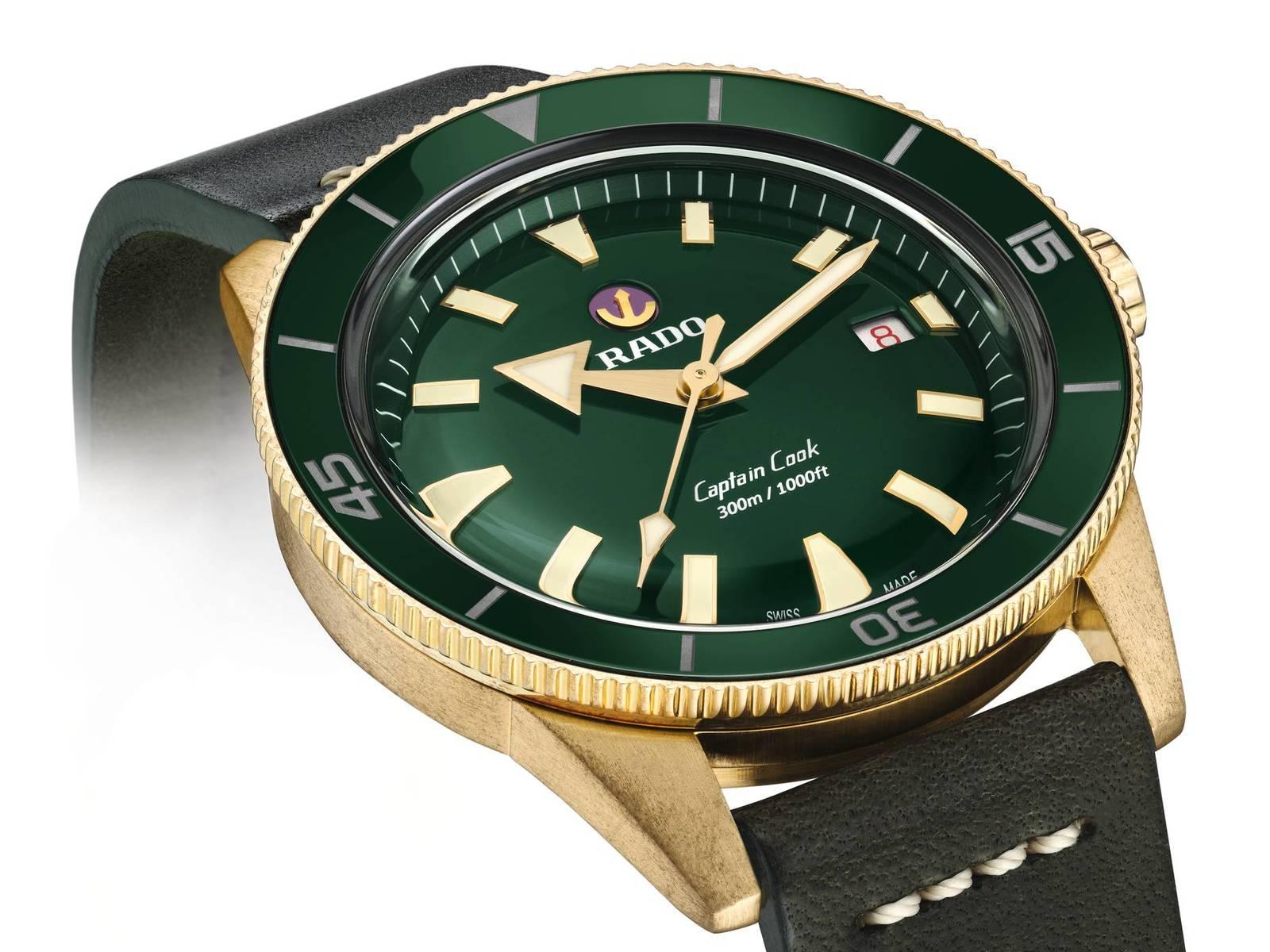 Rado Captain Cook Bronze • Nieuws - De Juwelier