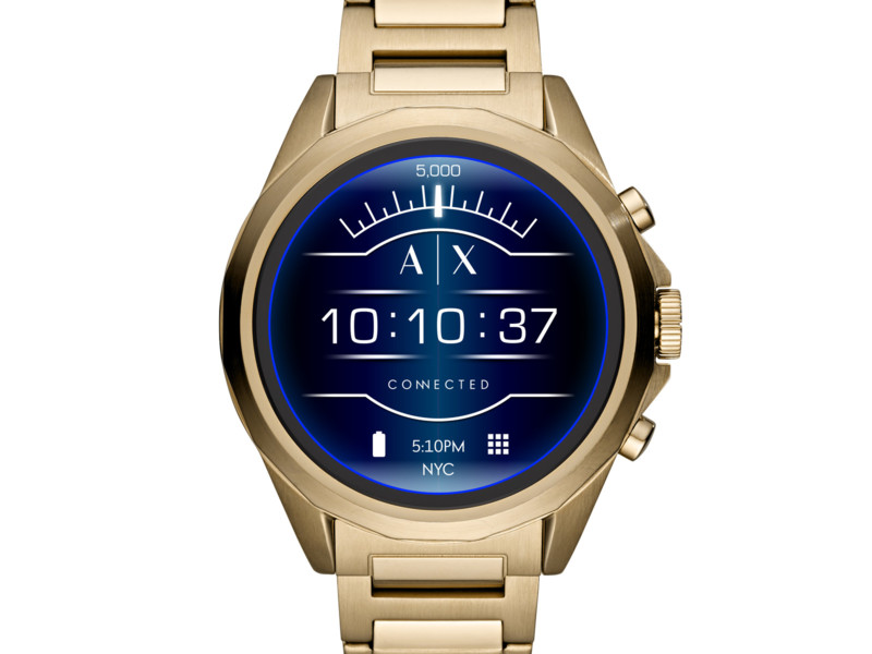 A|X Armani Exchange Connected touchscreen smartwatch