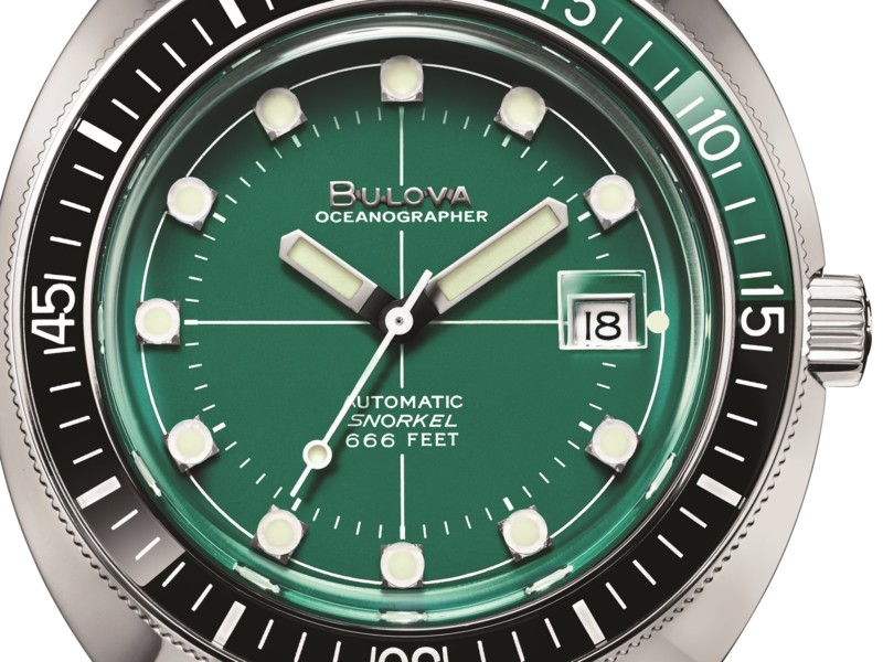 Bulova introduceert 'Oceanographer Devil Diver'