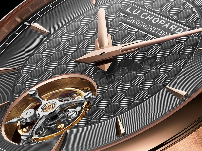 Chopard presenteert eerste flying tourbillon