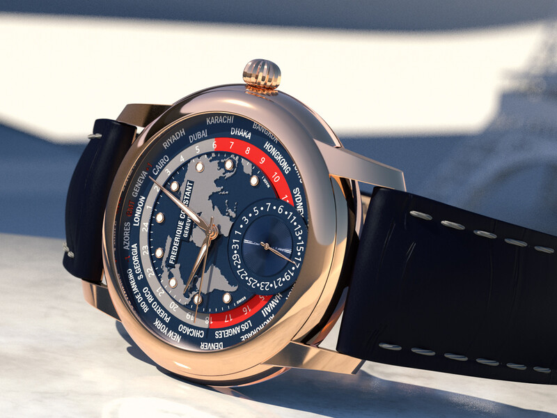 Classic Worldtimer Manufacture hult zich in roségoud