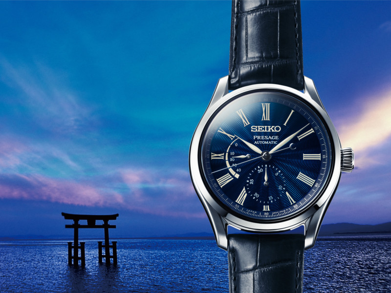 Seiko Presage Shippo emaille Limited Editions